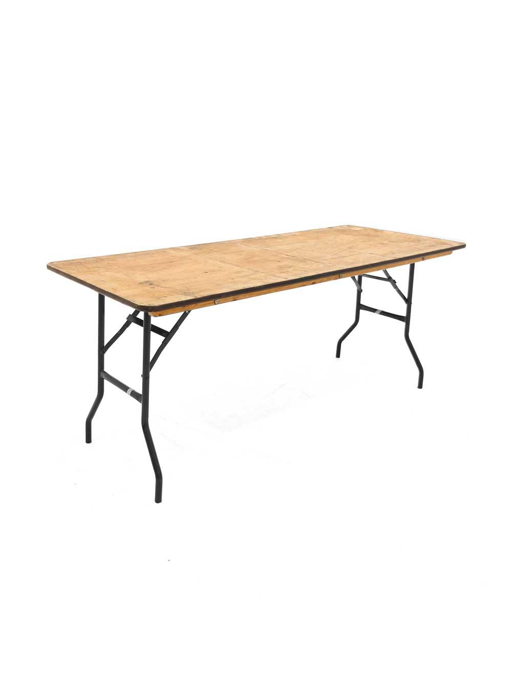 Astounding Folding Trestle Table 6Ft X 2Ft 6 Spiritservingveterans Wood Chair Design Ideas Spiritservingveteransorg
